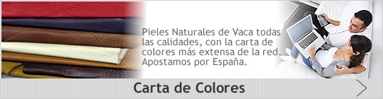 colores pieles vaca - decorpiel