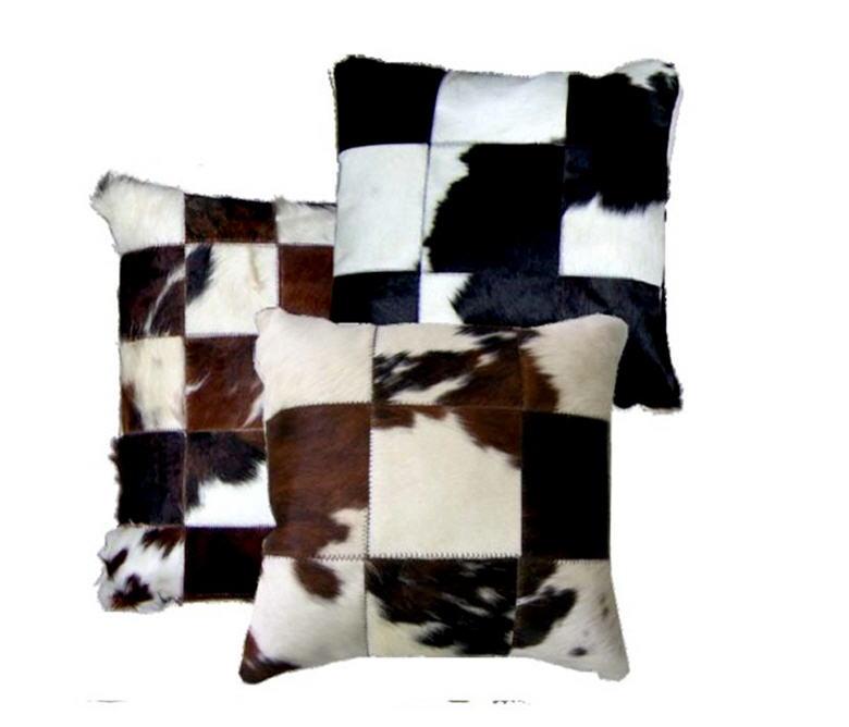 Cojines en piel toro - Cojines para sofas de piel ...