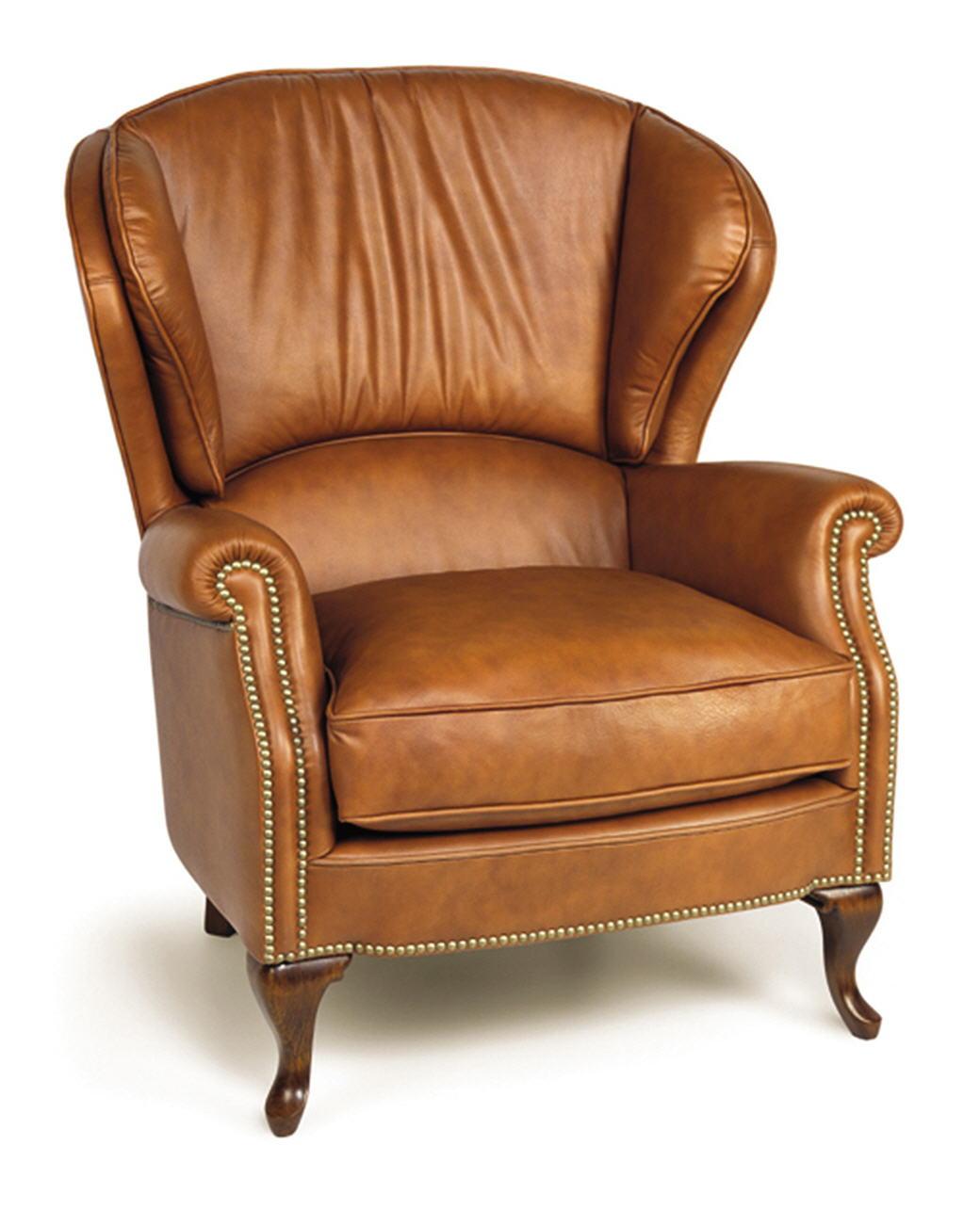 Butaca piel tempo for Modelos de sofas clasicos
