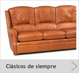 sofas cl sico piel
