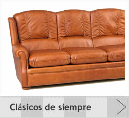 Sofas cl sico piel for Sofas clasicos de piel