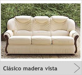Sofas cl sico piel for Sofas clasicos madrid