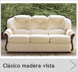 Sofas cl sico piel - Sofas modernos de piel ...