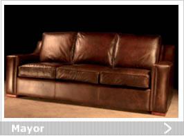 Sof s estilo cl sico - Sofa piel vintage ...