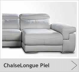 Sofas estilo moderno for Sofas de piel chaise longue