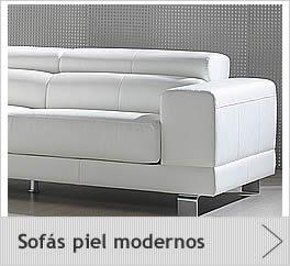 Sofas estilo moderno for Catalogos de sofas de piel