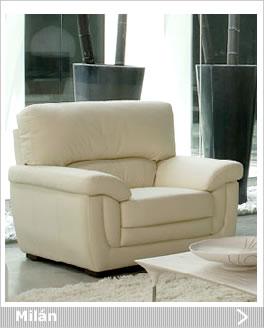 Butacas de piel - Sofas modernos de piel ...